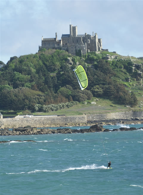 Cruising at Marazion